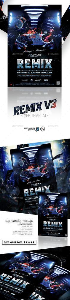 Remix Flyer Template V4