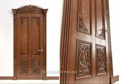 Резные двери. Украшение дверей деревянной резьбой - Ставрос