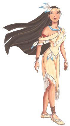 Disney Glamour 1995 Pocahontas by =Sil-Coke on deviantART