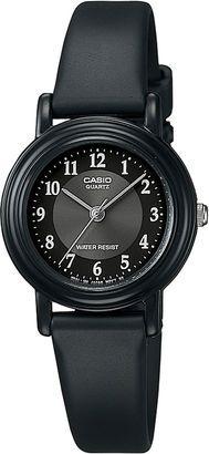 4d7285fe58a Casio Womens Black Resin Strap Watch LQ139A-1B3OS  watches  womens