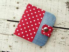 Kis pöttyös pénztárca - TÁSKA SULI Floral Tie, Sewing Projects, Coin Purse, Marvel, Stitch, Purses, Wallet, Varrni, Blog