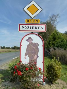 My great uncle died (missing in action) here in Pozieres, France.  A very emotional journey for me in 2011