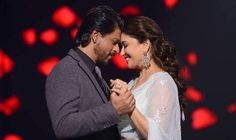 Madhuri Dixit-Nene and SRK! Scintillating chemistry!