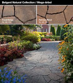 Belgard® Patio Pavers | Stone Center - Patio idea.  Love this one!