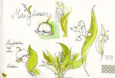 maiglöckchen gezeichnet - Google otsing M. Garanin illustration