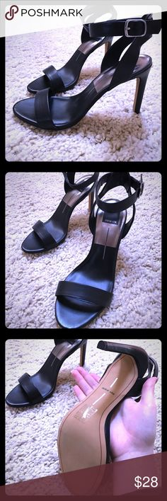"Dolce Vita Black Sandal Heels - Size 9 Dolce Vita Black Sandal Heels - Size 9; NEW w/out box. 4"" Heel, very sexy & comfortable. 😃👍🏾💜 Dolce Vita Shoes Heels"