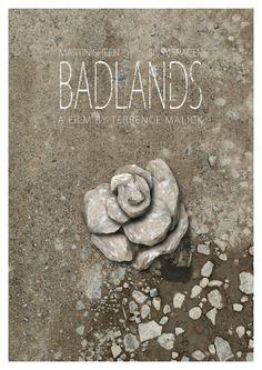 Badlands Poster by WolfCadet