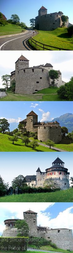 As the seat of the only German-speaking monarchy in the world, Vaduz merits a closer look -- Schloß Vaduz is official residence of the Prince of Liechtenstein. The castle gave its name to the town of Vaduz, which it overlooks from an adjacent hilltop.