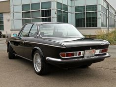 Learn more about Sharp and Dark: No-Reserve 1972 BMW CSI on Bring a Trailer, the home of the best vintage and classic cars online. Classic European Cars, Bmw Classic Cars, Corvette, Bmw E9, Bavarian Motor Works, Cool Garages, Bmw Alpina, Bmw Love, Bmw Cars