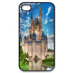 Disney Castle Custom iPhone 4, 4s Case Custom Case for iPhone 4,4S