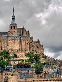 This place is magic.  Normandie - Mount Saint Michel