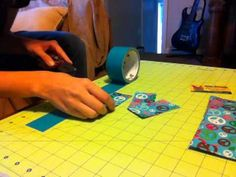 How to Make a Duct Tape Wallet Step 4