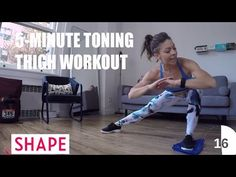 The Super-Toning Inner Thigh Workout That Only Takes 5 Minutes | Female Fit Body