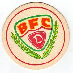 DDR-Fußball-Bierdeckel BFC Dynamo