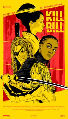 Kill Bill: Vol. 1 (2003) [1400 x 2456]
