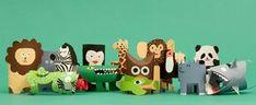 Preparatevi a un safari… di cartone!
