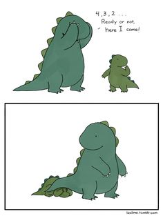 Hide and seek ...  From Liz Climo