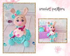 Crochet Toys Patterns, Amigurumi Patterns, Stuffed Toys Patterns, Handmade Ideas, Handmade Toys, Handmade Crafts, Crochet Round, Single Crochet, Basic Crochet Stitches
