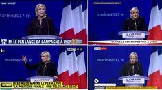 Il avait la volonté de faire le buzz, et pourtant cela n'a pas suffit à séduire les principales chaînes d'actualité françaises. Le candidat de La France insoumise a vu son discours brusquement interrompu par celui de sa rivale du Front national.
