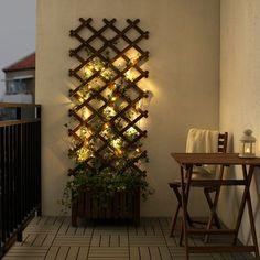 IKEA - LEDLJUS LED string light with 24 lights, outdoor black
