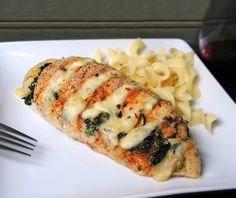 Hasselback Chicken - Cajun With Pepper Jack And Spinach Recipe - Food.com