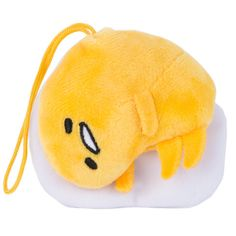 Not only does this adorable Gudetama plushy look like he's being grabbed and lifted by a pair of chopsticks, but squeeze his stomach and Gudetama will say one of ten Japanese phrases. Japanese phrases