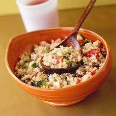 Quinoa Tabbouleh Recipe | MyRecipes.com