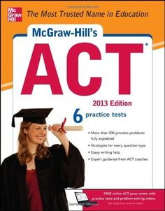 McGraw-Hill's ACT  2015 and other editions available for check out!