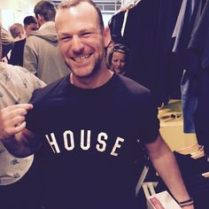 Our main man @rorygullan_rgldn looking sharp in his #housetee. all profits go to @ukhabitat to help #disasterrelief in #NEPAL >>> restocked >>>> grab one here >>> millionhands.net