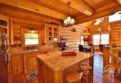 Taunya Fagan Christie's #Bozeman #LogHomes #Montana #Log #BozemanRealEstate
