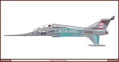 Formula 1 Fighter Planes Clavework Graphics 12
