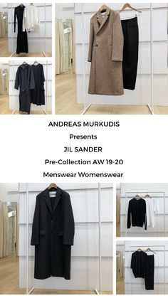 The atmosphere in ANDREAS MURKUDIS captures a freedom and tranquility that sets it apart from the usual, fast-paced retail world. Jil Sander, Menswear, Digital, Collection, Men Wear, Men Clothes, Men's Fashion, Men's Clothing, Men Fashion