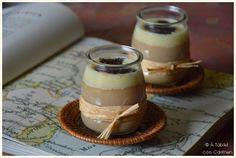 À table ! con Carmen: Crema de Café con Ganaché de Chocolate Blanco