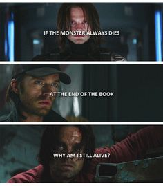 If The Monster Always Dies | At The End Of The Book | Why Am I Still Alive? #buckybarnes