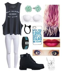 """""""One Direction concert"""" by catiepayne ❤ liked on Polyvore featuring ONLY, H&M, LC Lauren Conrad and Nly Shoes"""