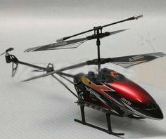 Helicopter R/C Gyro 3.5 Channel  Rp 215.000 Mainan Helicopter R/C  untuk umur 14 tahun Merk : Dolfin   Panjang : 30 cm Lebar : 5 cm Tinggi : 16 cm Remoter memakai infra red Volume Pengiriman : 2 kg  Pin bB : 29FF5B21