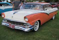 1956 Ford Fairlane Victoria..Re-pin brought to you by #bestrate on #AutoInsuranceinEugene at #HouseofInsurance