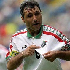 Stoichkov, Seleção Bulgara