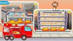 Porte secours aux animaux !  dans KIKI PETIT POMPIER - #BABYBUS https://play.google.com/store/apps/details?id=com.sinyee.babybus.fireman&hl=fr #application #éducative #enfant #tablette #smartphone #pompier #camion #panda #kidsapp