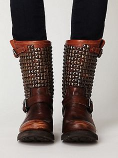 combat boots. If I had 400 dollars I'd get these in a second!