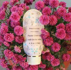 Facial Milk Face care cleanser Soft facial milk by ShopGreenJoy