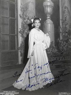 Maria Callas as Maddalena in Andrea Chenier