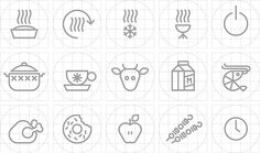 Microwave - Icons on Behance