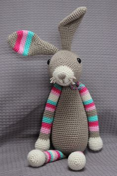 Mesmerizing Crochet an Amigurumi Rabbit Ideas. Lovely Crochet an Amigurumi Rabbit Ideas. Sweater Knitting Patterns, Easy Crochet Patterns, Crochet Patterns Amigurumi, Amigurumi Doll, Crochet Dolls, Knit Crochet, Yarn Monsters, Crochet Rabbit, Easter Crochet