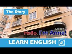 English Course – Lesson 2: Hello, I'm Anna – The Story - E-Angol