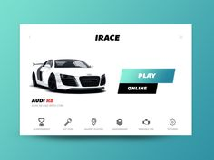 Day 060 - IRACE Audi Game UI