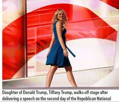Welcome to Solenzo blog: 2 of Donald Trump's children painted a deeply personal picture of their father on second night of the RNC