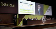 El presidente de Bankia, José Ignacio Goirigolzarri, en la Junta...