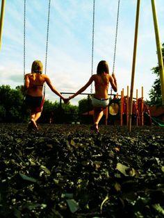 summer. best friends.