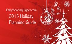 Plan for the holidays! This includes a FREE 8 page PDF to get your going which includes: Goal Setting, Holiday Budgeting, Gift Planning, Menus & Recipes, and so much more! #eaglesoaringhigher #goals #planning #holidays Remember: Christmas is not an emergency! http://www.eaglesoaringhigher.com/2015/11/06/plan-for-the-holidays/